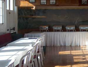 Fantastic banquet facilities aboard the Lady of the Lake