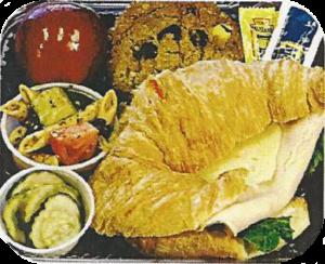 Box Lunch fixin's: Gourmet chicken salad