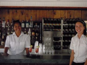 Full service bar served by the best staff on the lake.