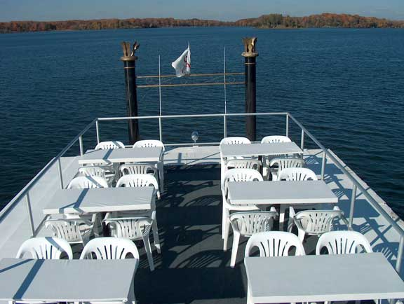 Upper Deck of the Lady of the Lake
