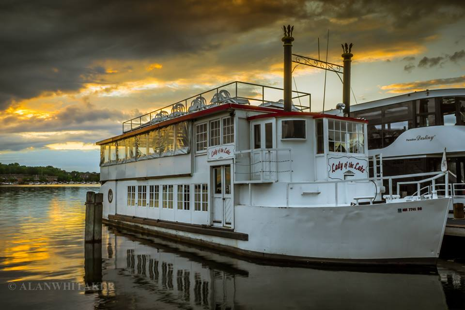 Al Whitaker's dawn photo of the Lady of the Lake